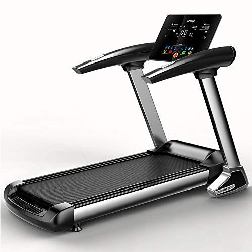 Tapis De Course, Bluetooth Tapis Roulant Pliant Running Walking Exercice Fitness Machine, 12 Pré-Programmes Et Vitesse Réglable