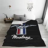 Horse Ultra Soft Micro Fleece Blanket, Warm All Season Thick Lightweight Warm Wool Soft Blankets Coverlet for Couch Sofa Bed 50'X40'