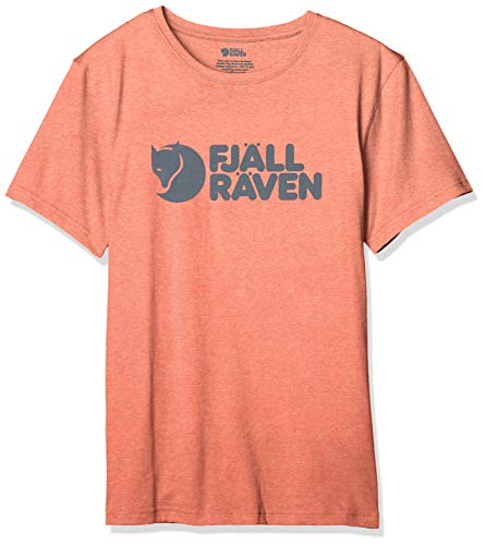 Fjallraven 87310 Fjällräven Logo T-Shirt M T-Shirt Mens Rowan Red-Melange XL