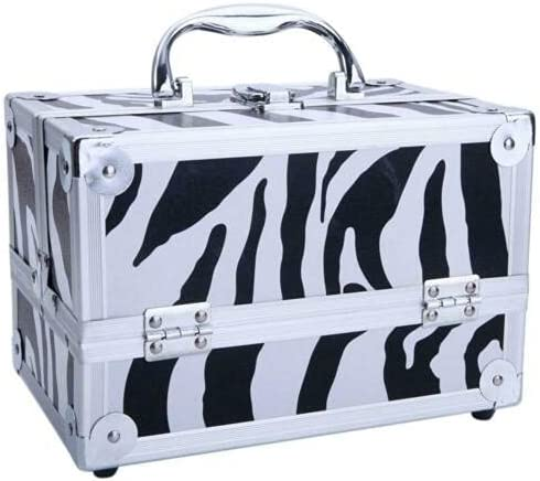 Kosoree Aluminum Over 55% OFF item handling ☆ Makeup Train Jewelry Box Storage Butto Cosmetic