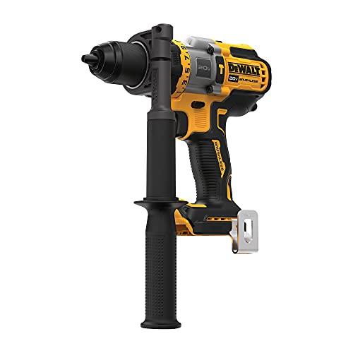 DEWALT FLEXVOLT 20V MAX Hammer Drill, Cordless, 1/2-Inch, (DCD999B)