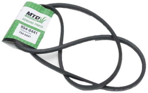 MTD 954-0441 Replacement Belt 1/2-Inch by 75 15/16-Inch