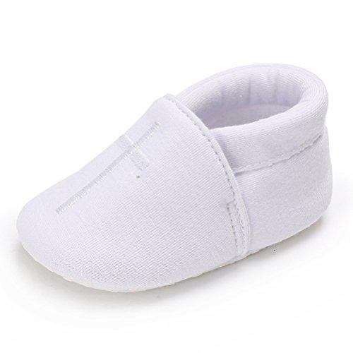 Cinda Baby Taufe Schuhe Weiß 6-12 Monate