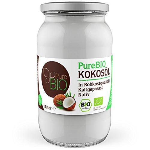 PureBIO Kokosöl 1000ml (1L)...