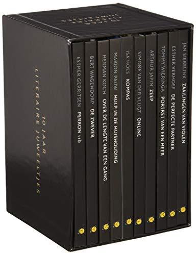 10 jaar Literaire Juweeltjes: box met 10 deeltjes