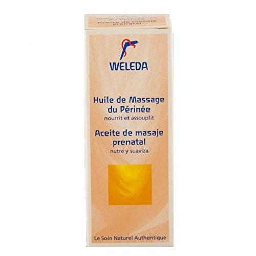 WELEDA - Huile de massage du périnée - Flacon en verre- (pour la quantité plus que 1 nous vous remboursons le port supplémentaire)