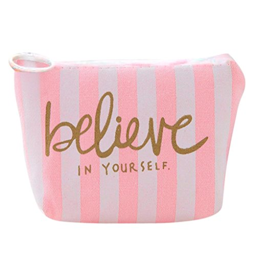 BCDshop Girls Cute Snacks Coin Purse Casual Wallet Small Change Pouch Key Holder Bag (D)