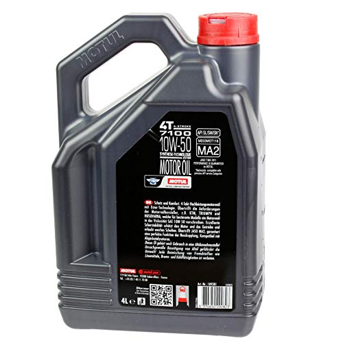 MOTUL 7100 4T 10W50 - Aceite para motor (4 L)
