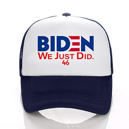EMUKOEP Gorra de béisbol Joe Biden 46, gorra presidencial unisex, gorra de béisbol, impermeable, de secado rápido, para deportes al aire libre