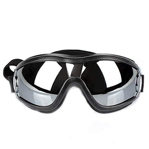 Runfon Sonnenbrille für Haustiere, Sonnenbrille, wasserdicht und UV-Schutz, für Haustiere, wasserdicht, für Kleine und mittelgroße Hunde
