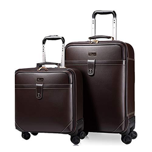 Maleta Trolley Tres piezas de 16 pulgadas, 20 pulgadas, paquete de 24 pulgadas, juego de maletas de equipaje Maleta portátil con maleta con ruedas giratorias Bolsa de viaje de negocios Adecuado Para V