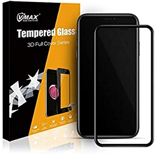 Glass Screen Protector 3D From Vmax For Apple iPhone 11/XR, Black Edges