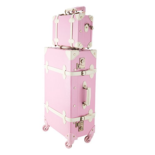CO-Z Premium Vintage Luggage Set...