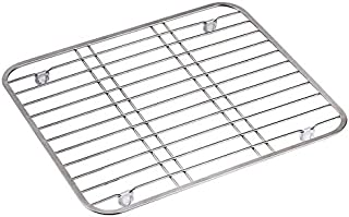ORZ Sink Drainer Rack Stainless Steel Multifunctional Fruit Vegetable Dish Drying Kitchen Protector Grid CWCUICAN
