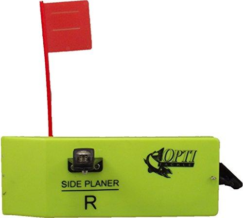 Opti Tackle 492 Large Planer Board w/Spring Flag System Left