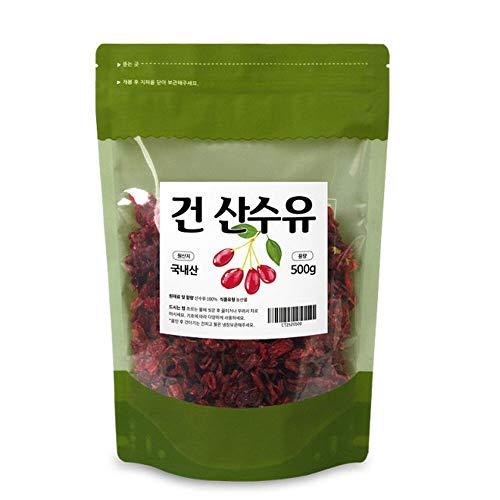 GoodDay Cornus 500g 山茱萸, Product of Korea | Sansuyu 산수유