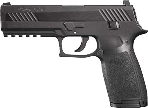 SIG Sauer P320 CO2 Black Pistol, Metal Slide