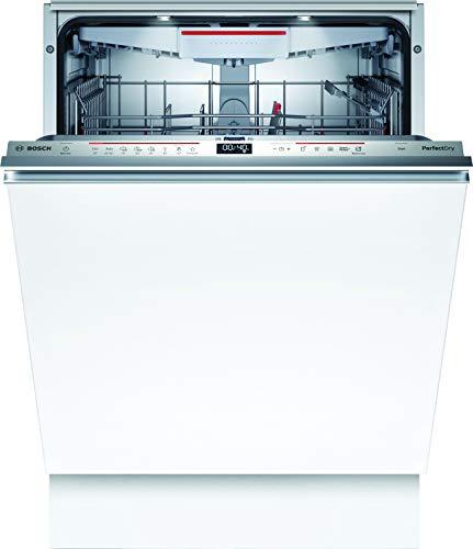Bosch SBV6ZCX49E Serie 6 XXL-Geschirrspüler Vollintegriert / C / 60 cm / 92,5 cm Nischenhöhe / 75 kWh/100 Zyklen / 14 MGD / SuperSilence / TimeLight / Zeolith / VarioSchublade / Home Connect