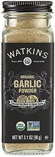 Watkins Gourmet Organic Spice Jar, Garlic Powder, 3 Count