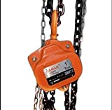 Chain Pulley Block 1ton 3mtr - Damar Brand AA Series Heavy Duty Chain Pulley Block/Chain Hoist - Best Quality - with Bearing and Alloy Steel Chain for Smooth Operation