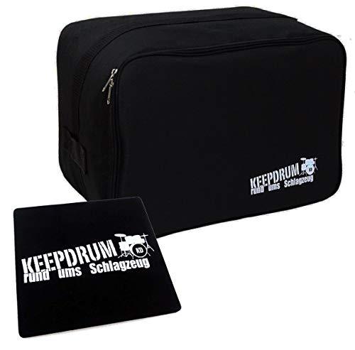 keepdrum CB04 Cajon-Tasche klein für Kinder-Cajon + Sitz-Pad klein