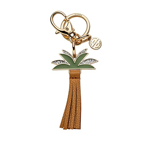 Fossil Keychain Palm, Gold