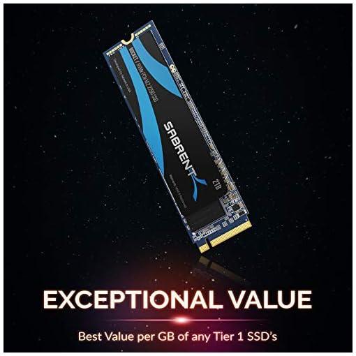 Sabrent 2TB Rocket NVMe PCIe M.2 2280 SSD interno Unidad de estado sólido de alto rendimiento (SB-ROCKET-2TB) 2