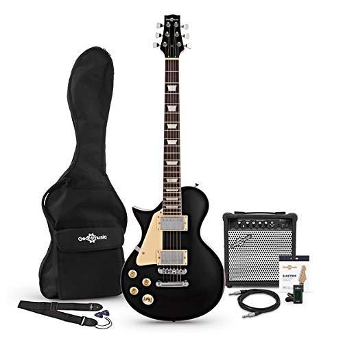 Set de Guitarra Eléctrica New Jersey Zurda Black
