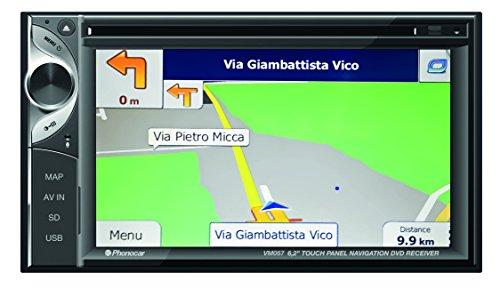 Phonocar VM057T Navigationsgerät, Festeinbau Europa Integriertes Navigationssystem