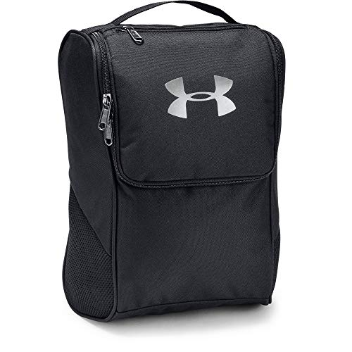 Under Armour UA Shoe Bag Mochila, Unisex Adulto, Negro Black/Silver 001, Talla única
