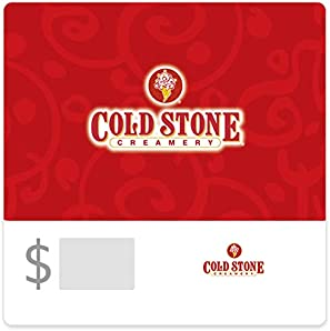 Buy $50, save $10 with code COLDSTONE at checkout