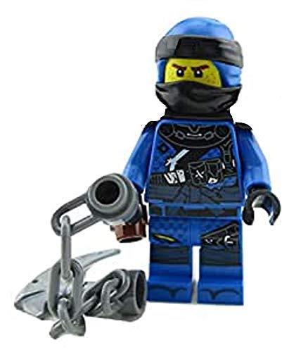 LEGO Ninjago Jay Minifigur mit Stachel-Morgenstern