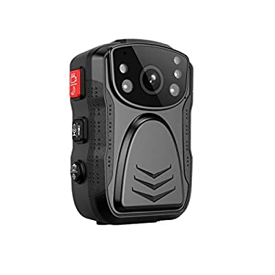 (Latest Gen)PatrolMaster 1296P UHD Body Camera with Audio (build-in 64GB), 2 Inch Display, Night Vision, Waterproof, Shockproof, Body Worn Camera with Compact Design, Police Camera for Law Enforcement by Dongguan Penghui Industrial Co. Ltd.
