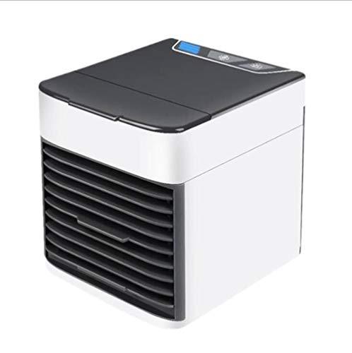 Aire Acondicionado Portátil Blanco Aire acondicionado escritorio de oficina en el hogar ventilador de aire acondicionado aire ártico enfriador de espacio personal para enfriar rápida y fácilmente cual