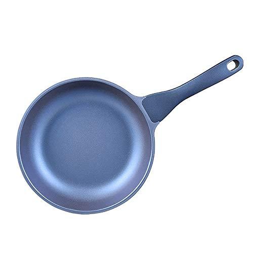 AZHom Pan de Zafiro Pan Antiadherente Panqueque Sin Aceite Aceite Sartén Steak Egg Pan Cocina de inducción Gas Universal