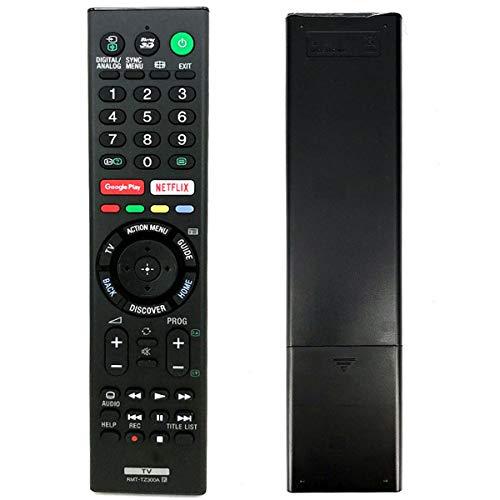 DELMO Afstandsbediening Compatibel Met Sony Tv Rmt-Tz300a Rmf-Tx200p Rmf-Tx200e Rmf-Tx200u Rmf-Tx200b Rmf-Tx201u Rmf-Tx200a