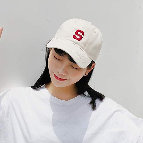 Sombrero Bordado Femenino Margarita pequeña Gorra de béisbol para Adultos Gorra de sombrilla para Hombres