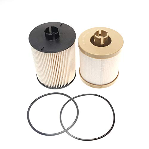 iFJF FD4617 Diesel Fuel Filter Replacement for 6.4L V8 Powerstroke F250 F350 F450 F550 Super Duty 2008-2010 Engine Replaces 8C3Z9N184C 8C3Z-9N184-A