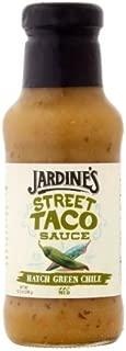 JARDINES STREET TACO SAUCES Hatch Green Chile Street Taco Sauce, 10.5 Ounce