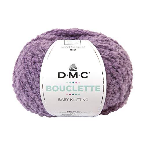 秋冬毛糸 BOUCLETTE(ブークレット) 136番色 プラム DMC ディーエムシー