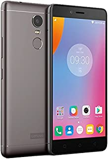 Lenovo K6 Note Dual Sim - 32GB, 3GB RAM, 4G LTE, Dark Grey