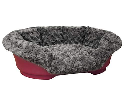 Nobby 60970-74 Housse pour lit en Plastique Gris foncé 58 x 38 x 20 cm XS