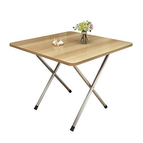 Klaptafel tuintafel eettafel eenvoudig huishouden kleine woning 2 personen 4 personen stal draagbare ruimte eten kleine tabel (grootte: 60 * 60 * 72 cm) 60 * 60 * 72cm