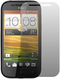 """2 x Slabo skärmskyddsfolie HTC Desire SV skärmskydd skyddsfolie """"Crystal Clear"""" osynlig MADE IN TYSKILN"""