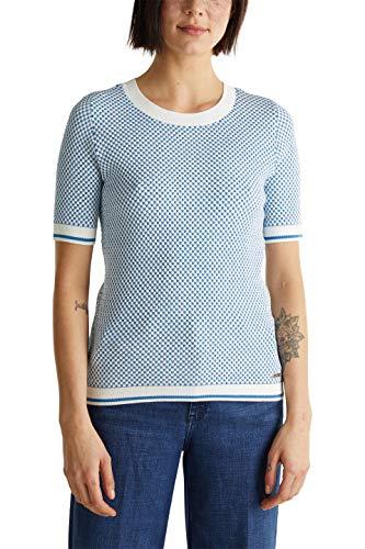 ESPRIT 030EE1I301 Maglione, 112/Off White 3, L Donna