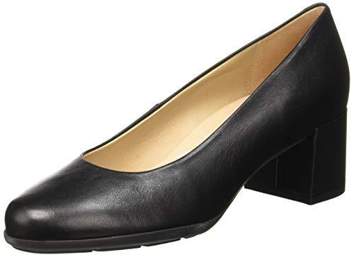 Geox D New Annya Mid A, Scarpe con Tacco Donna, Nero (Black C9999), 37 EU