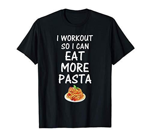 Training, damit ich mehr Pasta essen kann, das lustiges T-Shirt