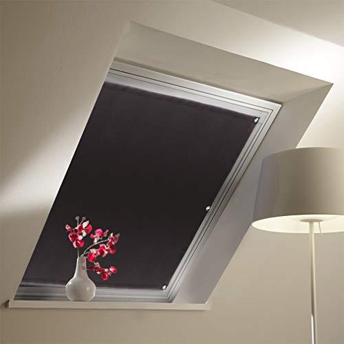 Dachfensterrollo mit Saugnäpfe Verdunkelungsvorhang für Velux 96x115cm Verdunkelungsrollo tragbare Gardinen Sonnenschutz für Kinderzimmer Dachfenster