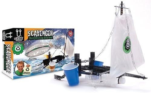 Uberstix Scavenger Recycling Series-PirateShip Flying Saucer by Uberstix