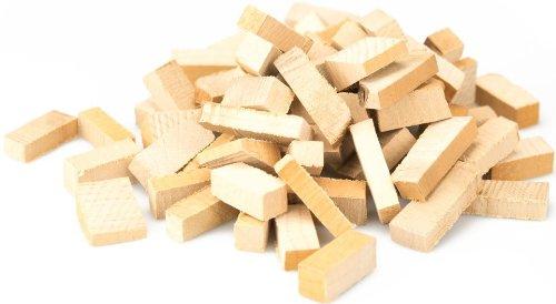 HOLZBRX Smokies trockene Buche- Räucherchips für den Smoker für das klassisch herbe Räucheraroma (15 Kilogramm)